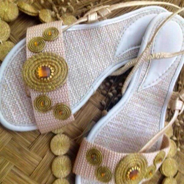 Sandale en Or Végétal